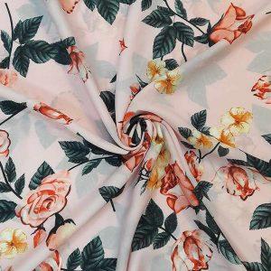 حریر جرجت گلدار