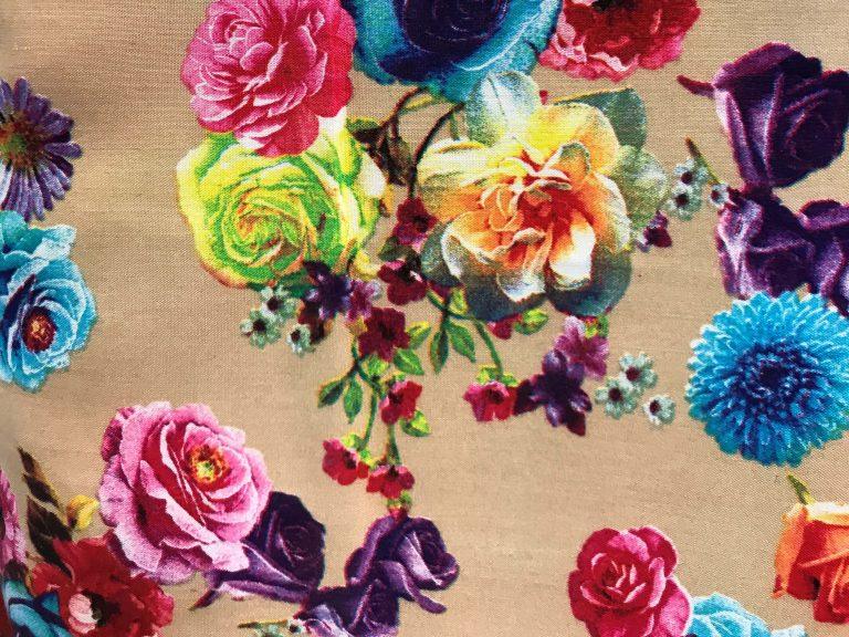 پارچه سوپر سافت گلدار