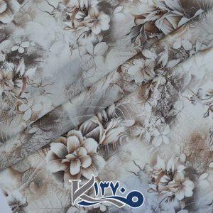 پارچه چادر رنگی فلورینا طرح گل صد برگ