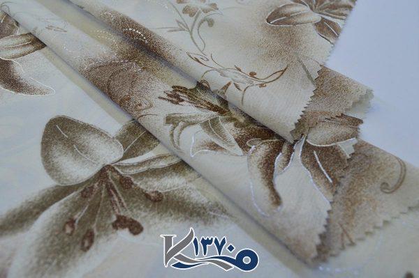 پارچه چادر رنگی فلورینا طرح گل