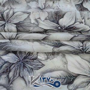 پارچه چادر رنگی فلورینا طرح گل لیلیوم