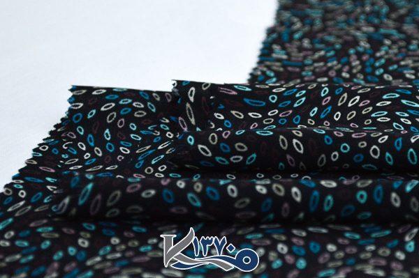 پارچه چادر رنگی اندونزی طرح برگ