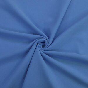 پارچه کرپ کبریتی آبی مایا