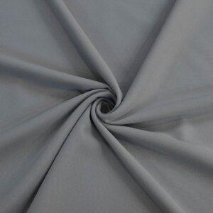 پارچه کرپ کبریتی خاکستری
