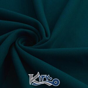 پارچه کرپ کبریتی سبز لجنی